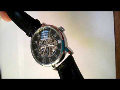 Видеообзор Forsining GMT838 - YouTube