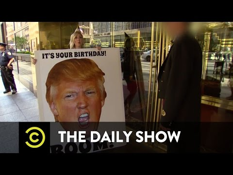 Exclusive  Wishing Donald Trump a Happy Birthday  Uncensored: The Daily