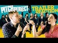 TRAILER REACTION  |  PITCH PERFECT 3  |  Trailer 2  |  ft.  Katherine Grace Tracy  |  FanTheory