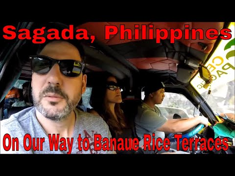 Philippines, Sagada: On Our Way to Banaue Rice Terraces