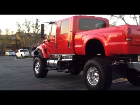 International Cxt Price >> International CXT 7300 DT466 Truck (World's Largest Pickup) - YouTube