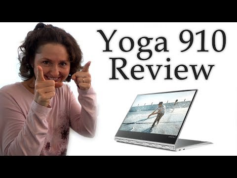 Lenovo Yoga 910 Unboxing and Review
