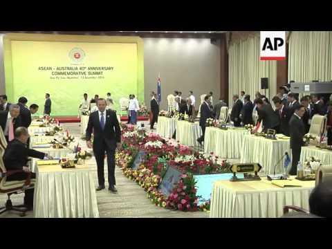 Australia PM Abbott meets ASEAN leaders