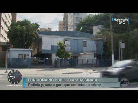 Funcionário de Centro de Assistência Social é morto a tiros por gari | SBT Brasil (11/07/18)