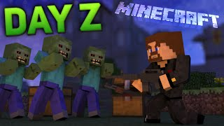 Minecraft DayZ - МЫ СБИЛИ ВЕРТОЛЕТ!