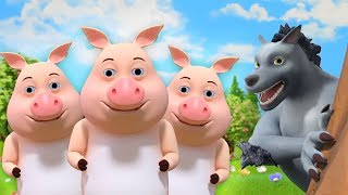 Three Little Pigs - Cartoon Songs & Nursery Rhymes by Little Treehouse