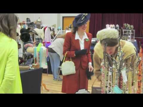 Dallas Vintage Clothing and Jewelry Show March 15-16, 2013
