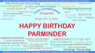 Parminder   Languages Idiomas - Happy Birthday
