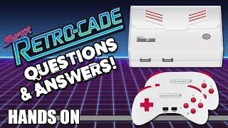 Hands-On: Super Retro-Cade Questions & Answers - Defunct Games