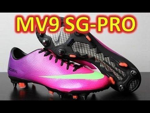 promo code 30ba7 97271 Nike Mercurial Vapor 9 IX SG-PRO Fireberry - Unboxing + On Feet ...