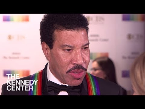 Lionel Richie - 2017 Kennedy Center Honors (Red Carpet)