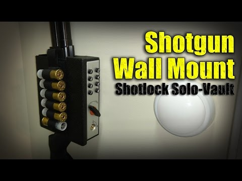 How to Store Your Home Defense Shotgun / Shotlock Solo-Vault