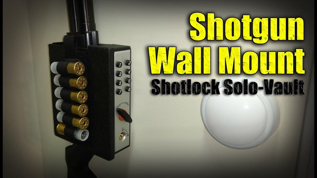 How To Store Your Home Defense Shotgun Shotlock Solo