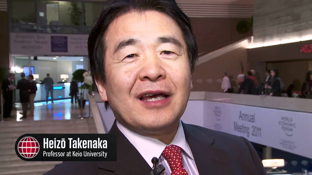 Heizo Takenaka: A Question for World Leaders - YouTube