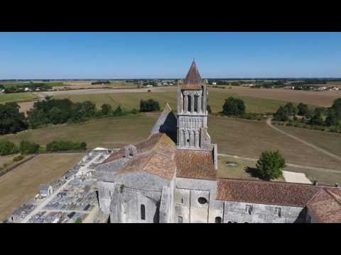 DRONE OCEAN - Abbaye de Sablonceaux (17)