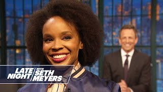 Amber Ruffin Addresses Megyn Kelly Asking if Blackface Is Racist