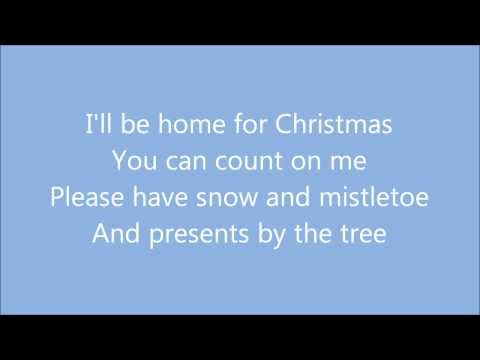 I'll Be Home For Christmas - Michael Bublé (Lyrics)