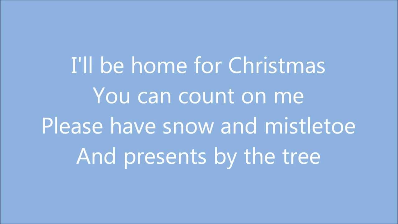 I'll Be Home For Christmas - Michael Bublé (Lyrics) - YouTube
