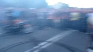 Zlot Motocykli Pod Grantem - Palenie Gumy