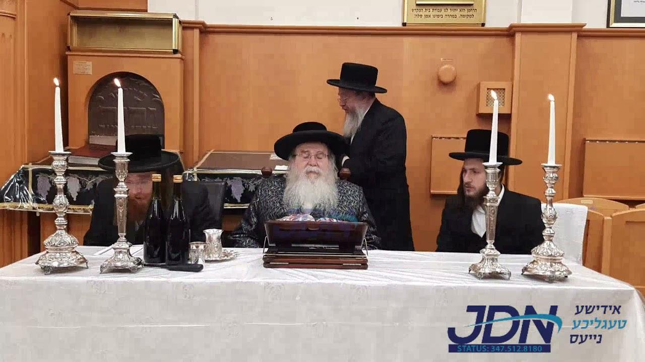 Lag Baomer 5781 Tish In Antwerp With Sanz Zmigrad Rebbe