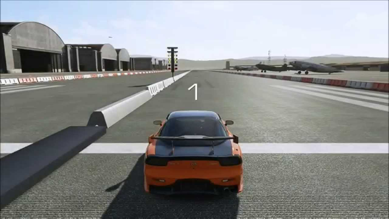 Forza Motorsports 5 - Testing Drag Racing Xbox One Game DVR - YouTube