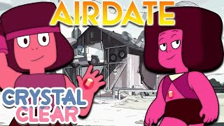 RUBIES AT THE BARN - Room for Ruby AIRDATE [Steven Universe News]