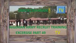 nigerian army recruit training ex cerise part 51
