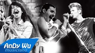 David Bowie & Queen & Eric Nally - Under Pressure / Downtown (feat. Ryan Lewis & Macklemore)