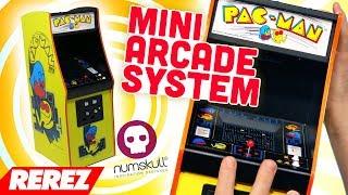 Pac-Man Quarter Scale Arcade Cabinet Review - Rerez