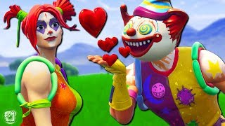THE WORST COUPLE IN SEASON 5 OF FORTNITE! *CLOWN SKINS* - A Fortnite Short Film