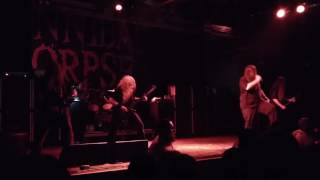 Cannibal Corpse - Icepick Lobotomy (Houston 08.17.16) HD