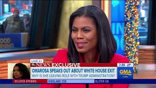 Omarosa Goes On GMA To Deny Her Firing