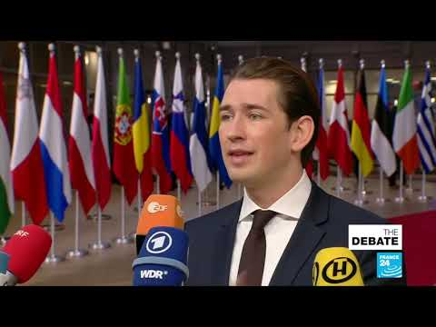 """Jalel Harchaoui: """"Kurz is essentially saying Egypt's the gold standard on human rights."""""""