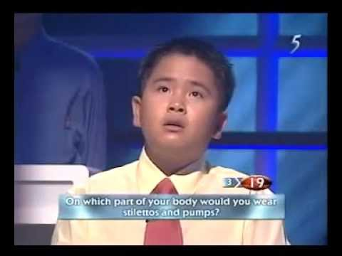 Singapore Brainiest Kid 2003 Finals