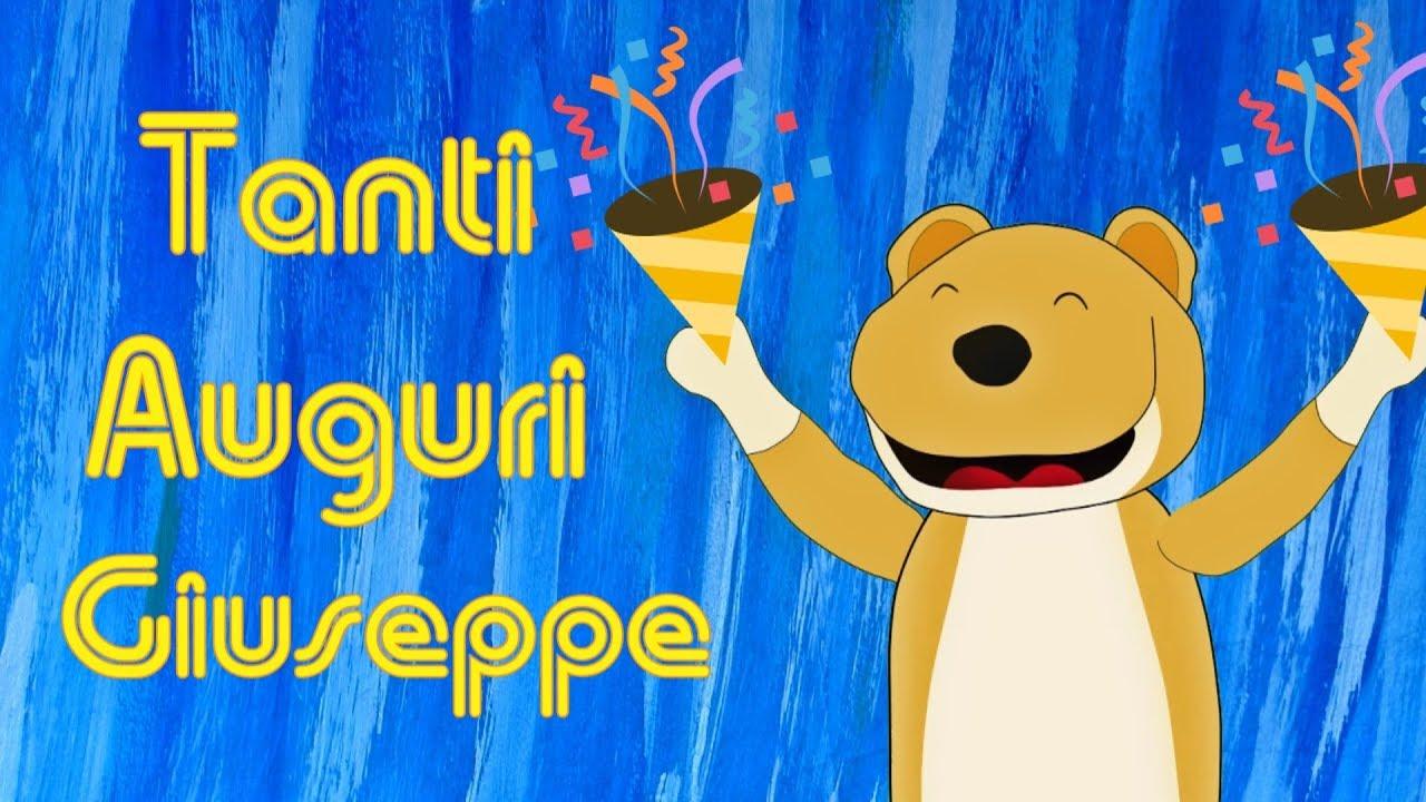 Tanti Auguri Giuseppe   YouTube