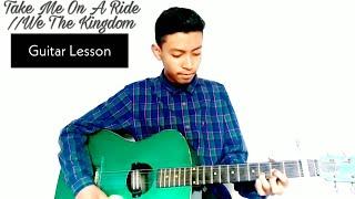Take Me On A Ride   We The Kingdom  Guitar Lesson   Jason Guitar Rendition