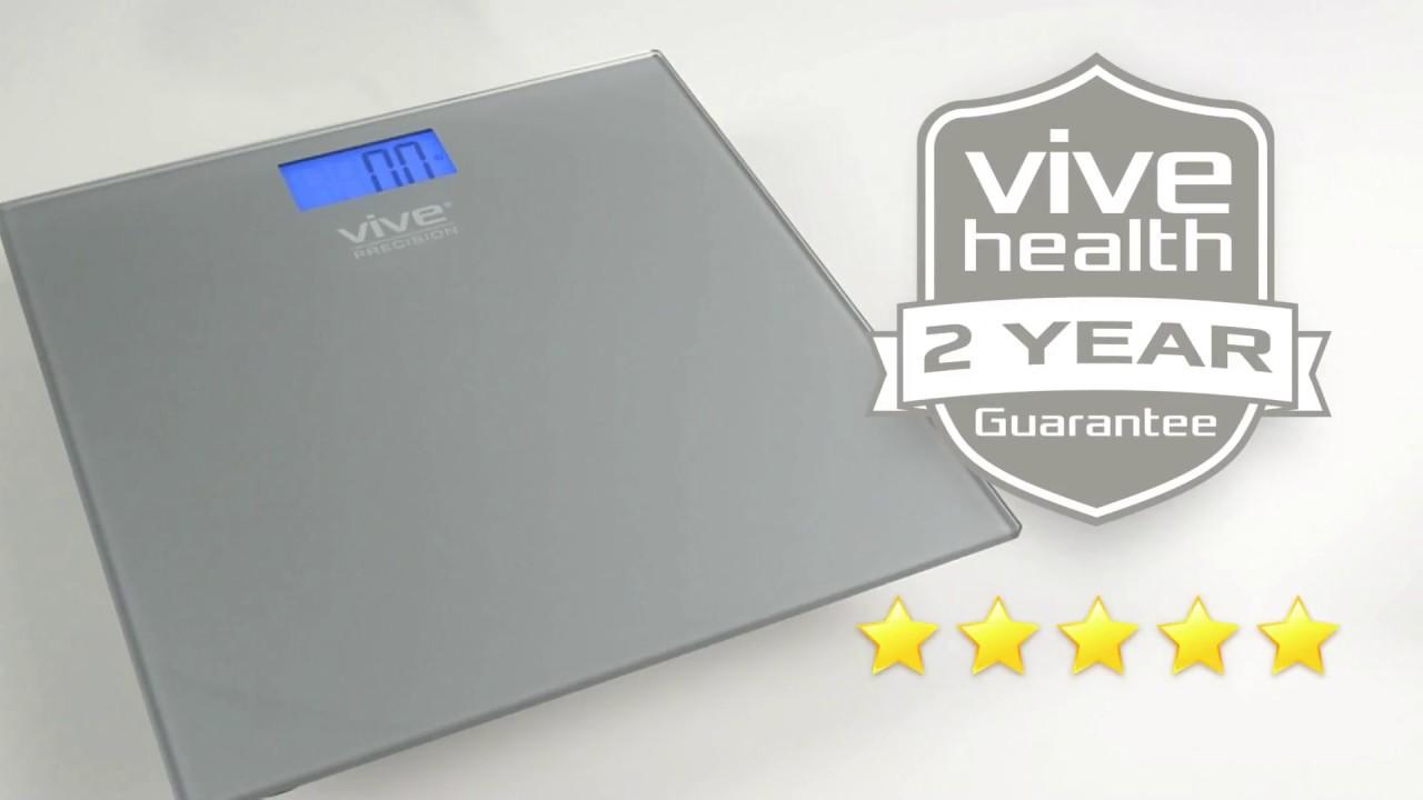 Bathroom Scale By Vive Precision