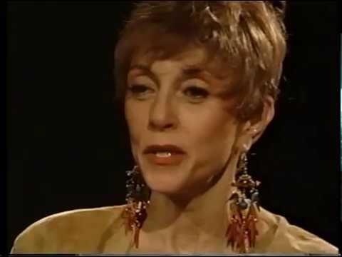Liliane Montevecchi--1991 TV Interview, Grand Hotel, King Creole