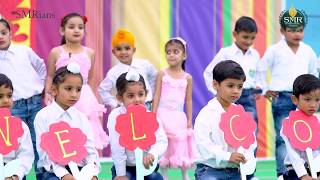 Welcome Song - Dance Performance by UKG Students | SMR INTERNATIONAL SCHOOL |