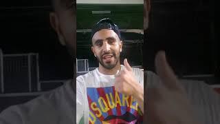 Riyad Mahrez remerciant l'Evina Football Camp qui l'a aidé plus jeune !