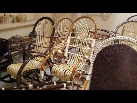 Кресло-качалка своими руками.Производство из исскуственного ротанга.Как сделать кресло-качалку