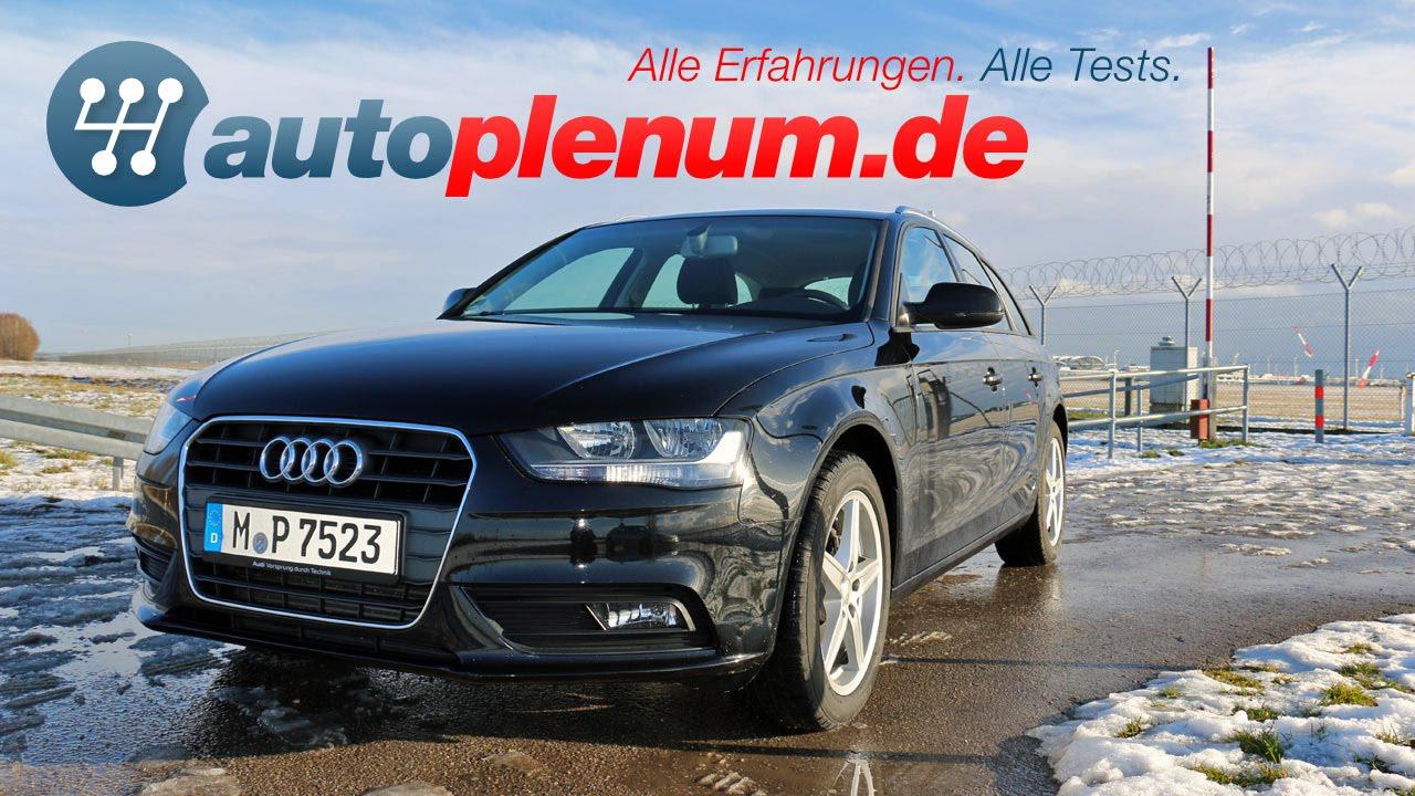 Audi A4 Avant B8 Test 2007 2015 Autoplenumde Youtube