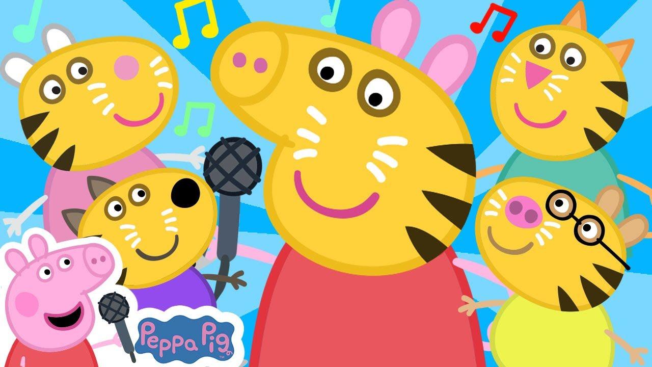 Guess the Animal Song | Peppa Pig Songs | Peppa Pig Nursery Rhymes & Kids Songs