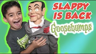Night of the Living Dummy Slappy is Back! Goosebumps pt 2