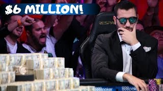 2019 World Series of Poker Runner-Up:  Dario Sammartino
