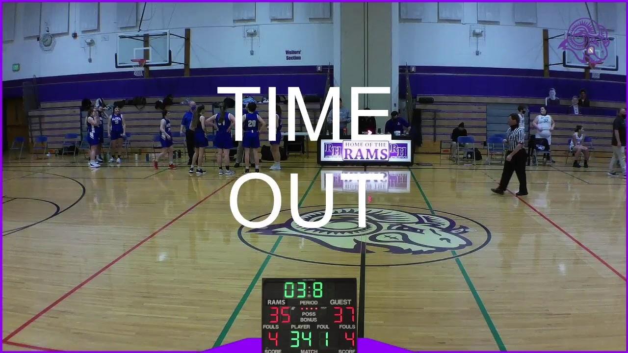 Girls Basketball V. Alden