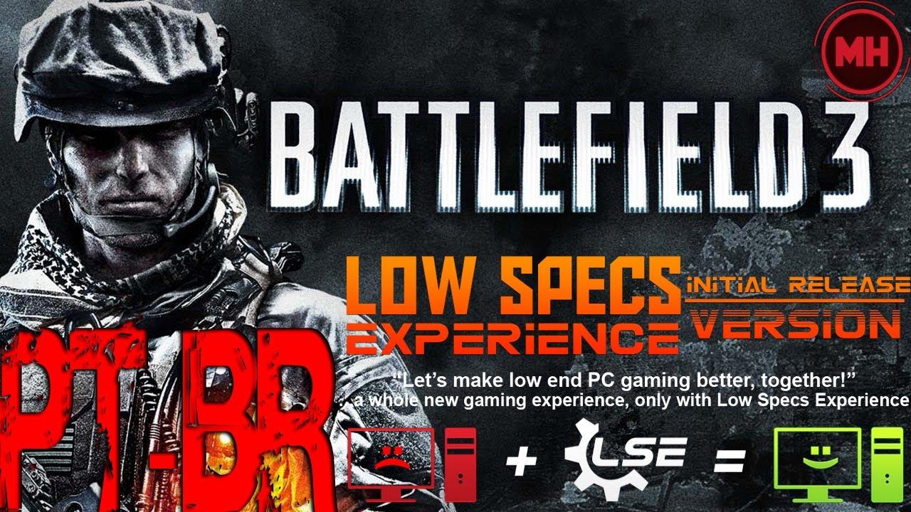 low specs experience