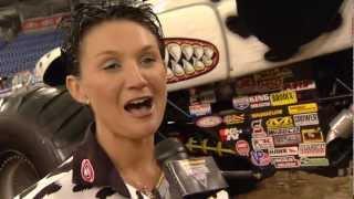 Monster Jam - Monster Mutt Dalmatian Monster Truck Driver Candice Jolly In Minneapolis
