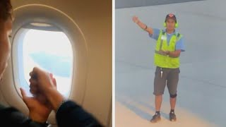 Plane Passenger Beat Ground Control at Rock-Paper-Scissors