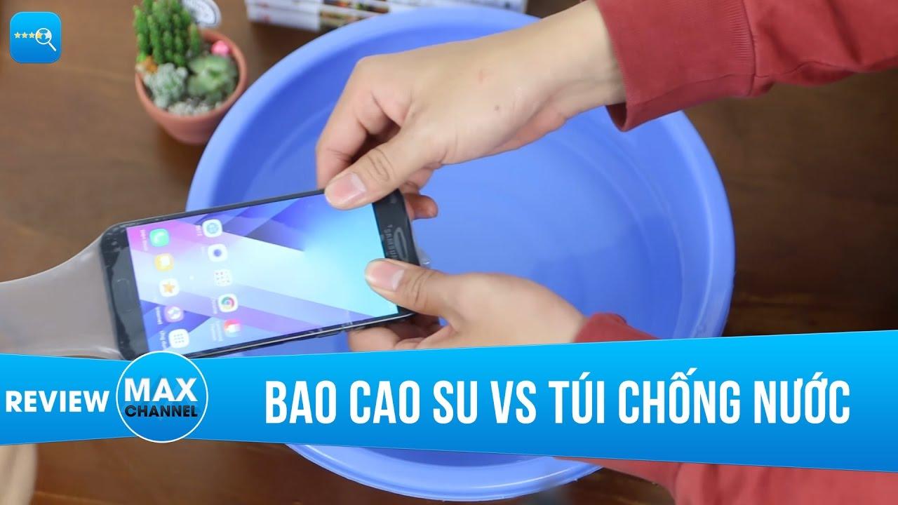 Bao cao su vs Túi chống nước, cái nào bảo vệ smartphone dưới nước tốt hơn?